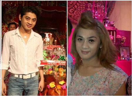 Hình ảnh Lâm Chí Khanh cũ và mới.