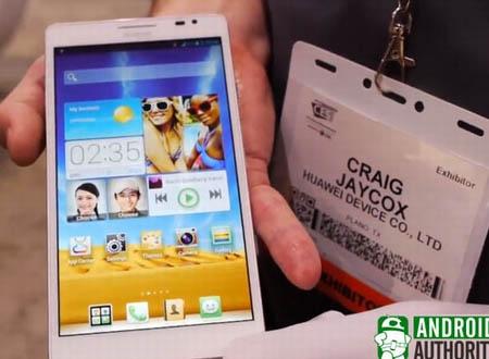 Huawei Ascend Mate trang bị màn hình tới 6,1-inch