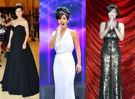 10 bộ váy làm nên đẳng cấp của Hồng Nhung
