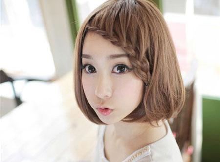 Tóc ngắn cũng dễ thương lắm.