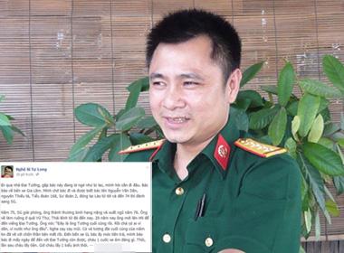 Tự Long tình nguyện làm 'xe ôm' trong lễ viếng Đại tướng