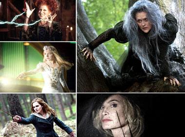 Hình ảnh phù thủy ấn tượng trong phim.