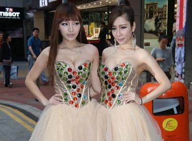 2 cô gái của nhóm AD2