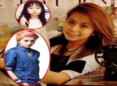 Trước khi được biết đến với phong cách tomboy, Gil Lê từng là một cô bé xinh xắn và dịu dàng.