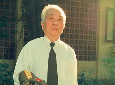Đại tướng Võ Nguyên Giáp (Ảnh: Trần Hồng)