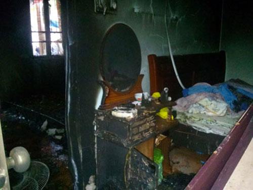 Cháy nhà, 2 vợ chồng thiệt mạng   Cháy nhà, Đám cháy, Hỏa hoạn, Thiệt mạng, Quảng Ninh, Lửa