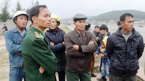 Hai thuyền viên được cứu đã về với gia đình | Hồ Vĩnh Lai, Nguyễn Văn Hà, Chìm tàu, Nghệ An, Chìm tàu 10 người gặp nạn