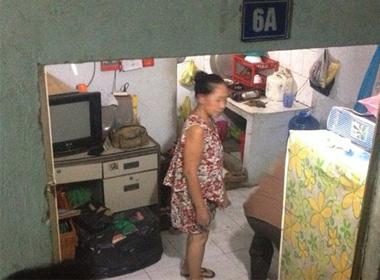 Căn phòng nơi 2 vợ chồng nằm chết
