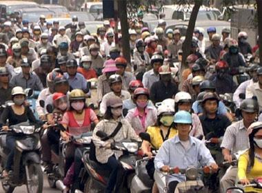 Sẽ cấm xe máy trong cả nước?