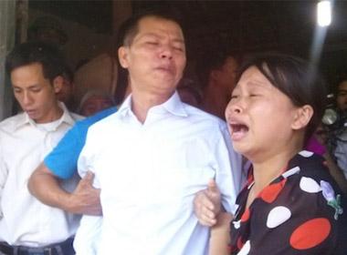 Những giọt nước mắt hạnh phúc của ông Nguyễn Thanh Chấn trong ngày đoàn tụ