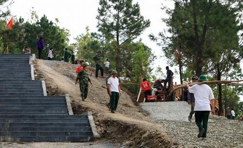 Gấp rút bảo vệ mộ Đại tướng Võ Nguyên Giáp trước siêu bão Haiyan | Vũng Chùa, Đảo Yến, Mộ đại tướng Võ Nguyên Giáp, Siêu bão, Bão số 14, Chống bão