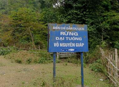 Khu rừng mang tên Đại tướng Võ Nguyên Giáp