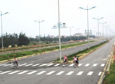 Quảng Bình có đường Đại tướng Võ Nguyên Giáp rộng 60m