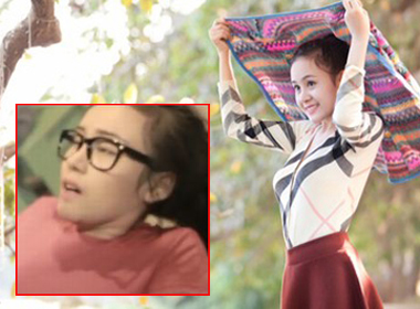 Bà Tưng bất ngờ tái xuất trong trailer phim mới bên chàng tí hon 1m26