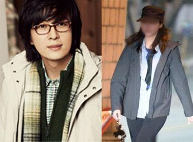 Bạn gái mới kém Bae Yong Joon tới 14 tuổi