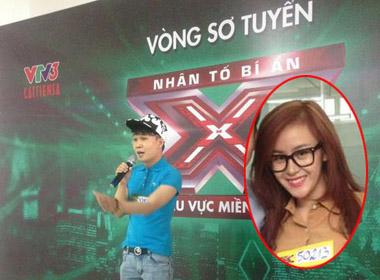 Quân kun và Bà Tưng trong vòng thử giọng tại The X-factor khu vực miền Nam