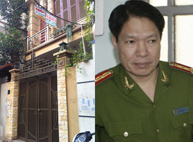 Dương Tự Trọng và ngôi nhà của Nhung ở ngõ 48, tổ 43, phường Quan Hoa (Cầu Giấy - Hà Nội).