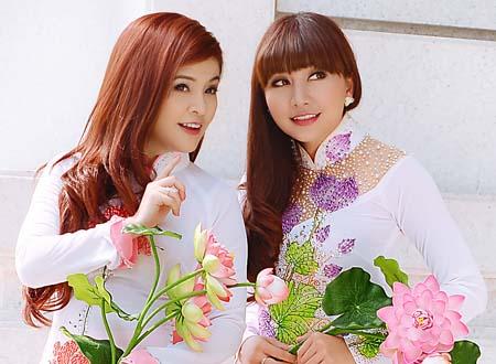 MC Ngọc Tiên cùng ca sĩ Tố Như