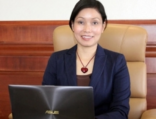 Bà Lê Thị Thu Thủy - Phó Chủ tịch kiêm Tổng Giám đốc Tập đoàn Vingroup