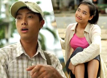 Hai nhân vật chính trong đoạn phim cảm động.