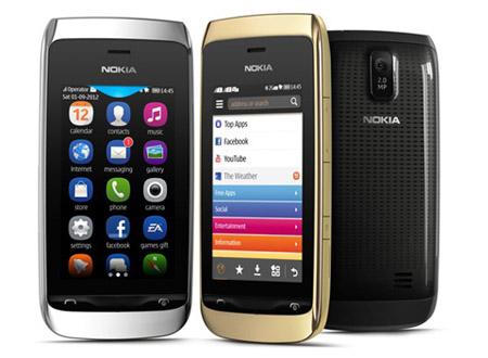 Nokia Asha 308 có giá 2,24 triệu đồng