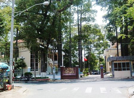 Trụ sở UBND tỉnh Trà Vinh, nơi xảy ra vụ việc vào tối ngày 7/1