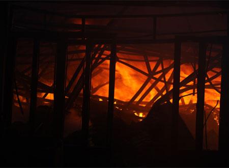 Biển lửa trong vụ hỏa hoạn