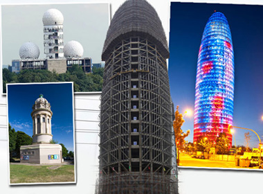 Những tòa nhà có hình dáng độc đáo trên thế giới.