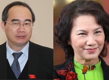 Ông Nguyễn Thiện Nhân và bà Nguyễn Thị Kim Ngân