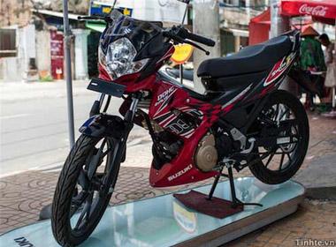 Rider 150 (hay còn gọi là Satria) đã có mặt ở thị trường trong nước