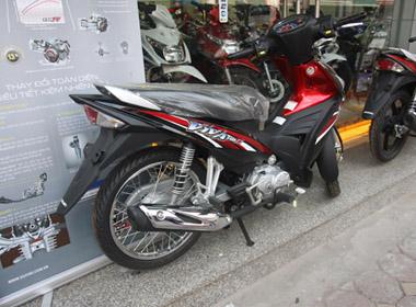 Suzuki Viva 115 Fi màu đen - đỏ