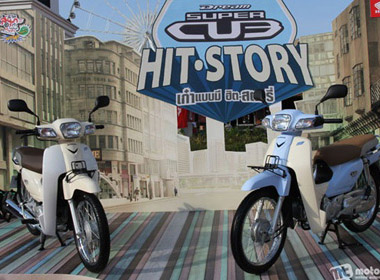 Honda Dream Super Cub 2013