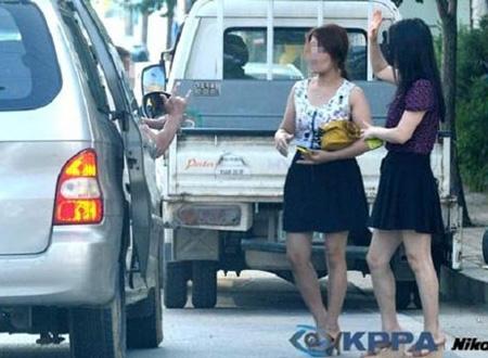 Gái mại dâm Triều Tiên. Ảnh minh họa.