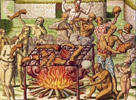 Chính người Anh lại ăn thịt đồng loại giống như các bộ tộc châu Mỹ bản địa.
