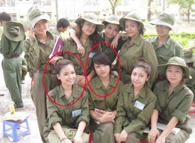 Dương Hoàng Yến và Hương Giang là bạn cùng lớp.
