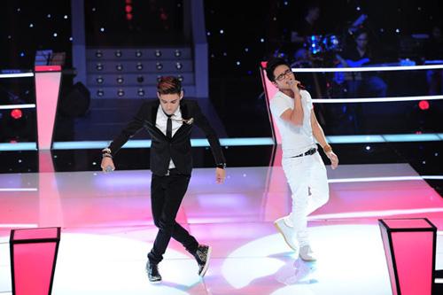 TRỰC TIẾP The Voice tập 1 vòng Đối đầu: Thảo Nhi   My Hoàng đấu nhau với Chạy mưa thevoice1jpg1372602906