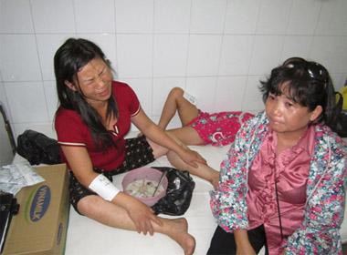 Chị Phùng Thị Thu Hương, 36 tuổi trú Hòa Xuân, Cẩm Lệ Đà Nẵng, là giáo viên của trường tiểu học Hòa Phước