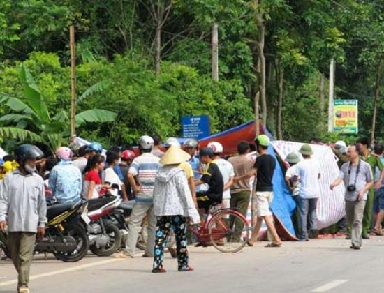 Đoạn đường xảy ra vụ tai nạn thương tâm