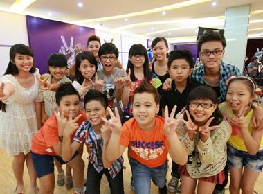 Các thí sinh Giọng hát Việt nhí 2013