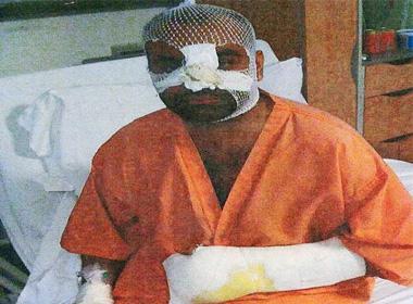 Rana Kamran trên giường bệnh