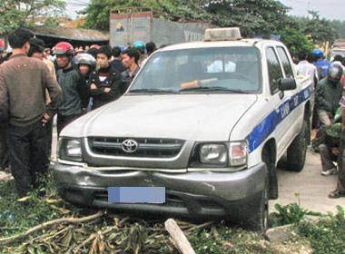 Hiện trường một vụ tai nạn
