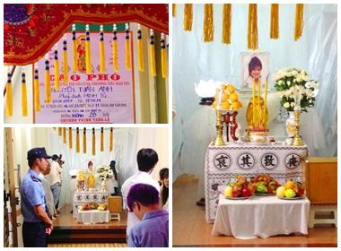 Nghẹn ngào cảm xúc trong lễ tang Wanbi Tuấn Anh