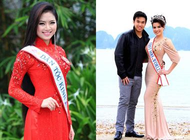 Hoa hậu Dân tộc bật khóc vì tin đồn ngủ với thiếu gia 15 tuổi và mua giải