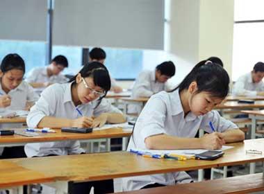 Thí sinh cả nước bước vào môn thi đầu tiên của kỳ thi Đại học đợt 1 năm 2013