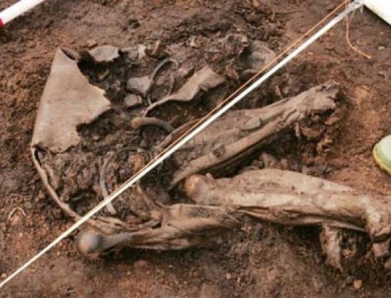 Xác ướp đầm lầy lâu đời nhất thế giới. Ảnh: Irishtimes
