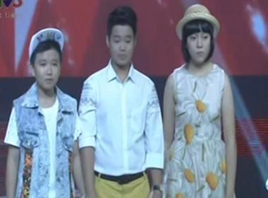 3 thí sinh đầu tiên trong đội HLV Hồ Hoài Anh - Lưu Hương Giang trong đêm thi