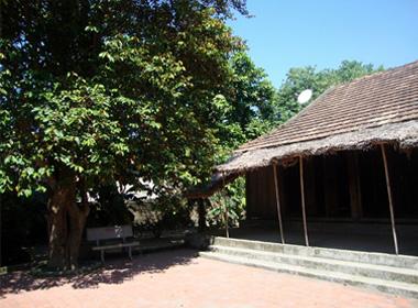 Căn nhà giản dị tại quê nhà của Đại tướng Võ Nguyên Giáp