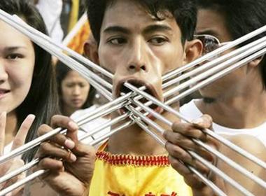 Nghi thức đánh dấu sự trưởng thành của người Thái bản địa