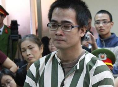 Nguyễn Đức Nghĩa tại phiên tòa phúc thẩm.