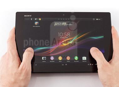 Sony Xperia Tablet Z mỏng chưa đến 7mm